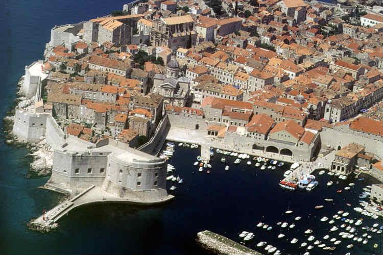 Aerial View Dubrovnik
