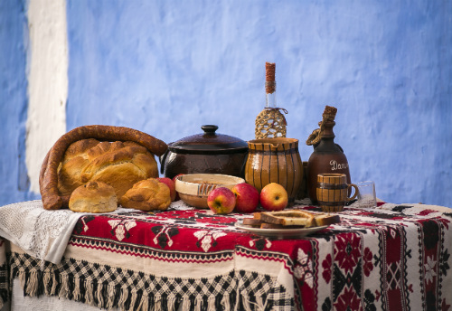 Traditional food Romania